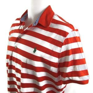 Ralph Lauren Polo Golf Orange & White Shirt
